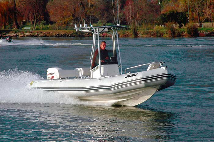 21 feet Zodiac 650 Pro Open 2007 – Boat Review