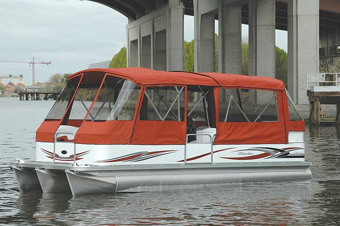 24 feet Manitou Oasis 2006 – Boat Review